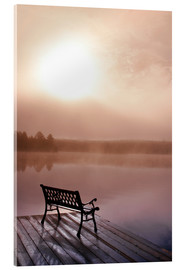 Acrylic print  Jetty in morning fog - Doug Hamilton