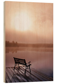 Wood  Jetty in morning fog - Doug Hamilton