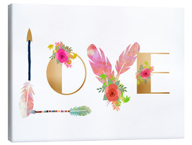 Canvas  Love Collage - GreenNest