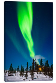 Canvas print  Aurora in Alaska - Kevin Smith