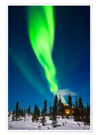 Premium poster  Aurora in Alaska - Kevin Smith