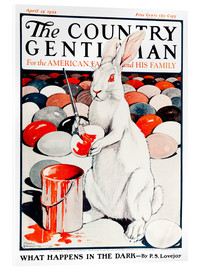 Acrylic glass  Cover of Country (White Rabbit) - Remsberg