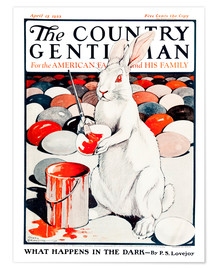 Premium poster  Cover of Country (White Rabbit) - Remsberg