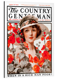Aluminium print  Cover of Country Gentleman - Remsberg