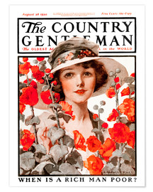 Premium poster Cover of Country Gentleman