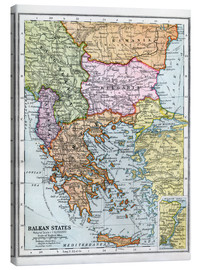 Canvas print  The Balkan States Between The First And Second World Wars - Ken Welsh
