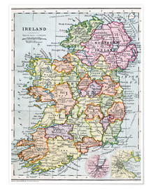 Premium poster  Irish Free State And Northern Ireland - Ken Welsh