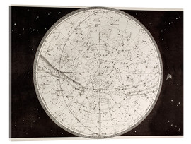 Acrylic print  Map Of The Northern Heavens - Ken Welsh