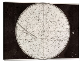 Canvas print  Map Of The Northern Heavens - Ken Welsh
