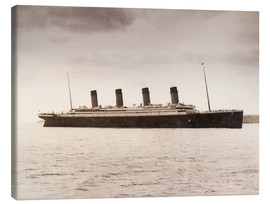 Canvas print  RMS Titanic - Ken Welsh