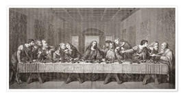 Premium poster The Last Supper After Leonardo Da Vinci