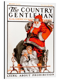 Aluminium print  Cover of Country (Santa Claus) - Remsberg