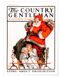 Premium poster  Cover of Country (Santa Claus) - Remsberg