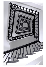 Acrylic glass  STAIRCASE I - Sabine Wagner