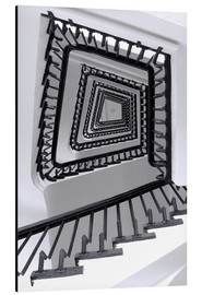 Aluminium print  STAIRCASE I - Sabine Wagner
