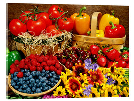 Acrylic glass  Fruits And Vegetables - David Chapman
