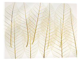 Acrylic glass  Layered Leaves - Kelly Redinger