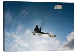 Canvas print  Kitesurfing - Ben Welsh