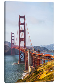 Canvas  Golden Gate Bridge in San Francisco - Leah Bignell