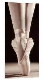 Foam board print  Ballet Shoes - Don Hammond