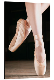 Aluminium print  Ballet Dancer En Pointe - Don Hammond