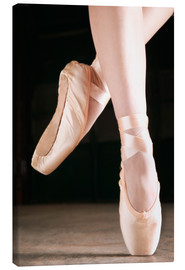 Canvas print  Ballet Dancer En Pointe - Don Hammond