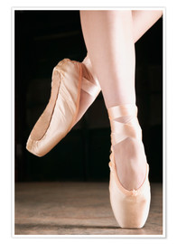 Premium poster Ballet Dancer En Pointe