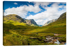 Canvas print  Glen Coe , Scotland - Reiner Würz