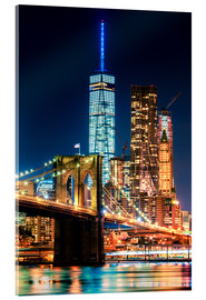 Acrylic glass  New York City Landmarks - Sascha Kilmer