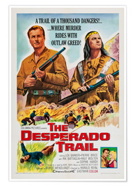 Premium poster The Desperado Trail