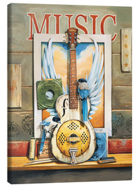 Canvas print  Music - Georg Huber