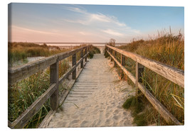 Canvas print  St.Peter Ording web - Daniel Rosch