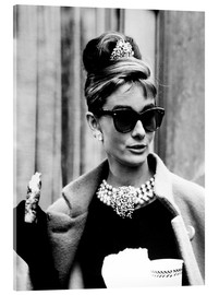 Acrylic glass  BREAKFAST AT TIFFANY'S