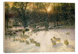 Wood  The Shortening Winter's Day is Near a Close  - Joseph Farquharson