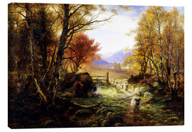Canvas print  Evening - Joseph Farquharson