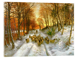 Acrylic print  Through the Calm and Frosty Air - Joseph Farquharson