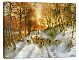 Canvas print  Glowed with Tints of Evening Hours - Joseph Farquharson