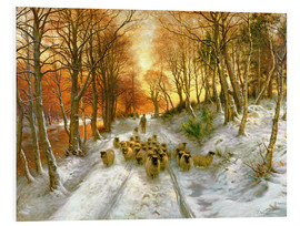 Foam board print  Glowed with Tints of Evening Hours  - Joseph Farquharson