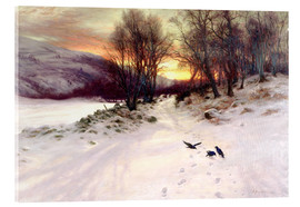 Acrylic glass  When the West with Evening Glows - Joseph Farquharson