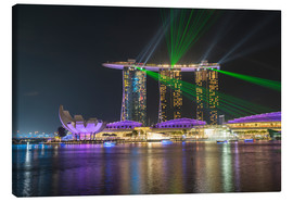 Canvas  Marina Bay Sands Hotel in Singapore - Peter Schickert