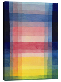 Canvas print  Architecture of the plain - Paul Klee