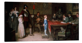 Aluminium print  And When Did You Last See Your Father? - William Frederick Yeames