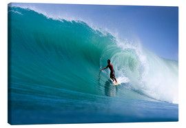 Canvas  Surfing the dream wave - Paul Kennedy