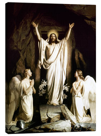 Canvas  The Resurrection - Carl Bloch