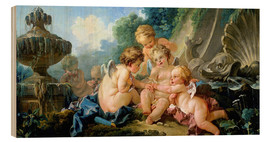 Wood  Angels in the Game - François Boucher