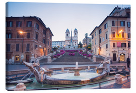 Canvas print  Spanish Steps, Rome - Matteo Colombo