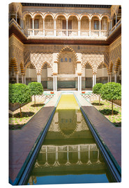 Canvas print  Court of the virgins in the royal Alcazar - Matteo Colombo