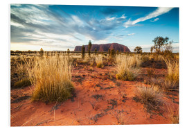 Matteo Colombo - Red Desert at Ayers Rock