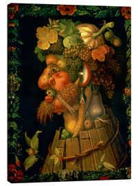 Canvas  Autumn - Giuseppe Arcimboldo