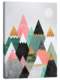 Canvas  Pretty Mountains - Elisabeth Fredriksson